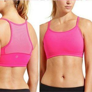 Athleta Chi Sports Bra Pink